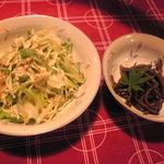 山麓キッチン - サラダと小鉢