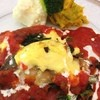 RESTAURANT+CAFE  Dahlia - 料理写真:白身魚とほうれん草のはさみなんとか!