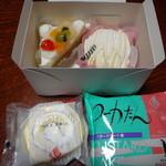 ニシムラファミリー - 料理写真:ケーキ