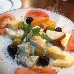 PASA - チーズの盛り合わせ