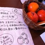 頓珍館 - みしらず柿がサービス