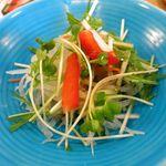 和食レストランとんでん - サラダのアップ