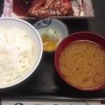 22884097 - きんめ鯛煮魚定食(1200円)