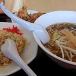 風味屋 - ラーメン定食(580円)