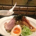 串焼き おんば - 料理写真:【鶏スープの中華つけめん】焼き鳥屋さんならではのコトコト煮込んだ鶏がらスープは絶品です。麺との相性も◎是非、ご賞味あれ!!