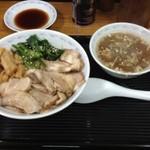 横浜とんとん - チャーシュー丼