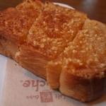 カフェドムッシュ - アーモンドトースト