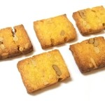 シトロン・シュクレ - ナッツとチーズとカレーのサブレ