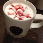 タリーズコーヒー - 2013.12.2 ストロベリーショートケーキモカ