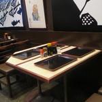 江戸幸 - テーブル席