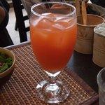 AZ DINING - ブラッドオレンジジュースです。