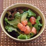 AZ DINING - 有機サラダです。