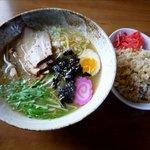 麺処 咲柳 - しおラーメン&小チャーハン