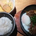 飯家ひさひさ - 黒毛和牛カルビ鉄板焼(\880)