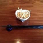 あかりや弧仙 - 揚げ蕎麦w