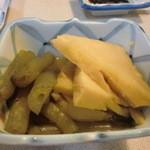 22893082 - タケノコと蕗の煮物