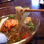 冷麺処 伸 - 麺リフト~
