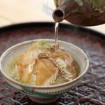 千龍丸 - 料理写真:お茶をかけてもお吸い物をかけても美味しい『鯛茶漬け』