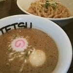 つけめんTETSU - スープは、割りもあり♪