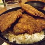 レストラン 若生軒 - 「カツ丼セット」のカツ丼