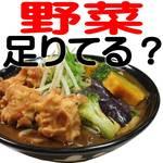 得得 - 新発売!野菜を食べるカレーうどんシリーズ♪嬉しい2/3日分(230g)野菜使用で栄養満点!