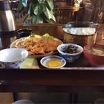 舟宿 - 生姜焼き定食¥1000