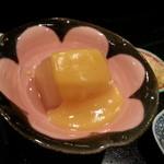 味にしかわ - かぶ煮酢味噌掛け