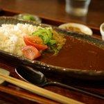 リトルスターレストラン - チキンカレー(850円)