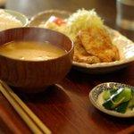 リトルスターレストラン - 今日のランチ(豚肉の香味焼き)850円