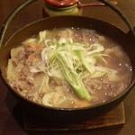もみじ亭 - 牛肉ほうとう