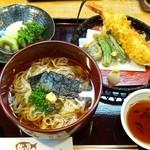 割烹 ばい月 - 冷やし稲庭御膳(1200円)