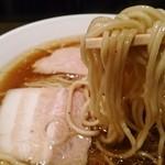 麺匠ぼんてん - 細麺