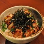 焔 - 料理写真:焼き鳥丼