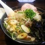 マスターピース - もろみ酢醤油ラーメン(201312)