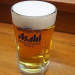 奴ずし  - 生ビール