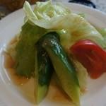 レストラン アビーハウス1990 - 長野の野菜はどこも新鮮ですね。