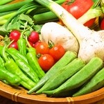 くいものや 洛 - お野菜の炭焼きもございます!
