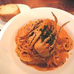 22905913 - パスタランチ・渡りガニのトマトクリームスパゲッティ