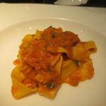 オルティージャ - 甘海老の濃厚トマトクリームのパッパルデッレ