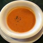 キッチン カントリー - ランチに付いてくるスープ