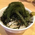 首里製麺 - 海ぶどう丼