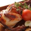 月光食堂 - 料理写真:【焼】オーブンでじっくり肉汁たっぷり『ローストチキン』~ヨーグルトベースのソースで