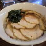 RA-MEN BAR NAGOMI - 追い煮干し醤油らーめん+焼豚トッピング