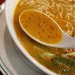 担々亭 - スープ