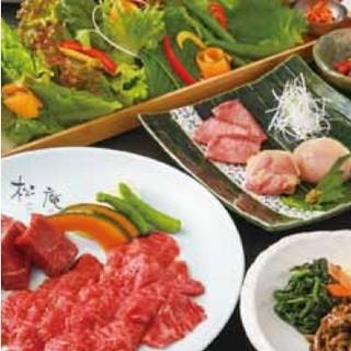 ご宴会コース6000円から。接待やワンランク上のご宴会に。