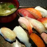 北々亭 - 料理写真:ワンコインランチ 500円 2013/12