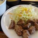 松屋 - 中落ちカルビ定食
