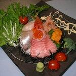 喜扇鮨 - 料理写真:皿チラシ