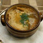 洋食の店 みしな - オニオングラタンスープ