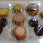 ステラおばさんのクッキー - ステラおばさんのクッキー達!はかり売りクッキーでGETし各密封小袋にしてくれました!